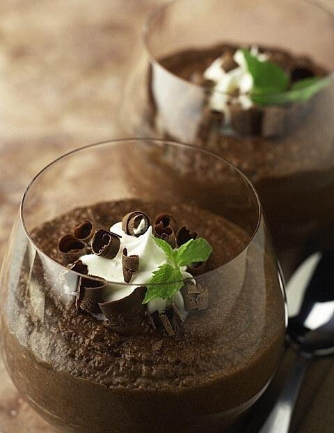 Warm and Creamy Mocha Pudding
