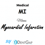 MI Medical Abbreviation