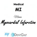 MI Medical Abbreviation